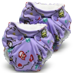 Lil Joey Newborn Diapers r Owls