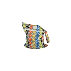 Sweet Pea Wet Bag Argyle