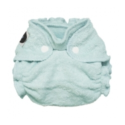 Imagine Newborn Fitted Diaper Indigo Snap