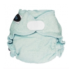 Imagine Newborn Fitted Diaper Indigo Aplix