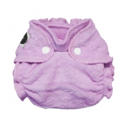 Imagine Newborn Fitted Diaper Lilac Snap