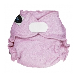 Imagine Newborn Fitted Diaper Lilac Aplix
