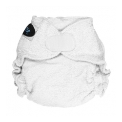 Imagine Newborn Fitted Diaper Snow Aplix