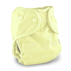 Buttons Cloth Diapers Banana Cream