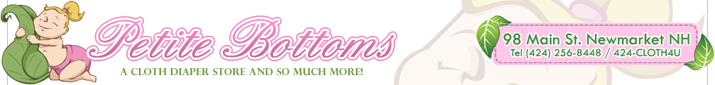 Petite Bottoms Cloth Diaper Store New Hampshire